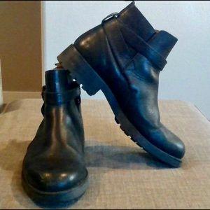 Men's Impulse Leather Ankle Boots - 10